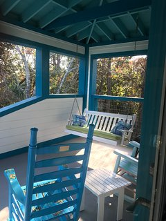 Ashley Sea House, close to beach, playground, food, drink & water sports.