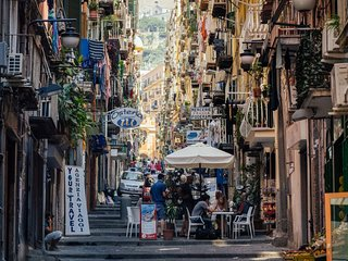 Casetta incantata charme in pieno centro a Napoli, Nápoles