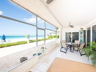 NEW Listing - Rare 2350 sqft Beachfront Groundfloor Condo Seven Mile Beach