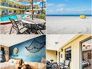 Condo: 2 min to the Beach: Heated Pool: 2 bikes: Grill, Redington Beach