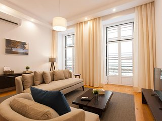 Luxus Baixa apartment in Baixa/Chiado with WiFi & airconditioning.