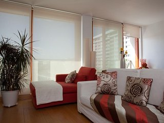Spacious Expo River View apartment in Parque das Nações with WiFi & lift.