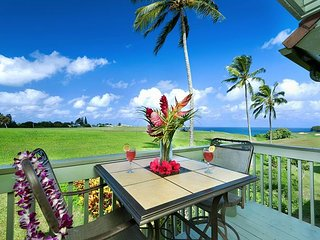 Spectacular Ocean and Golf Course views, 3 bedroom condo