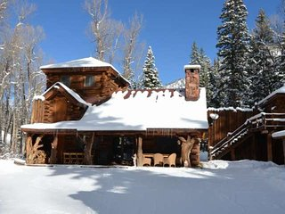 Romantic cabin in the woods with all the modern amenities and Private outdoor, Aspen