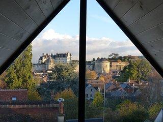 Loft insolite avec vue historique exceptionnelle. OFFRE DE LANCEMENT, Amboise