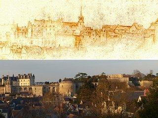 500 ans séparent le dessin réalisé par Léonard de Vinci de la vue que vous aurez !