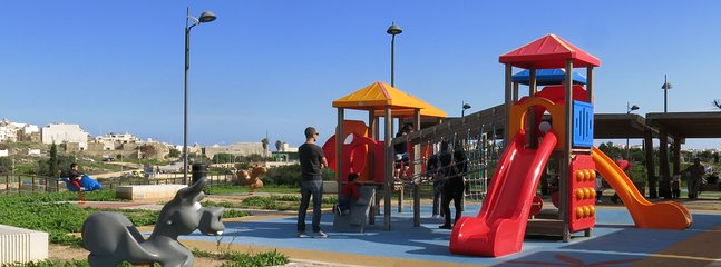 Childrens' play areas