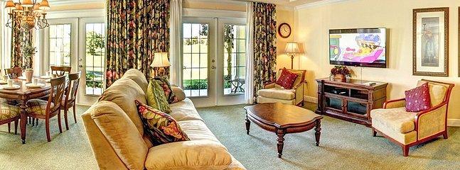 Reunion Resort vacation rentals near orlando living room with sofa
