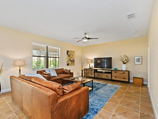Beautiful 5Bed 4.5Bath Champions Gate Home with Private Pool, Spa and Gameroom