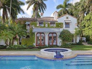 Spectacular Mediterranean Waterfront Villa, Miami Beach