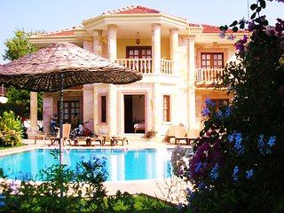 Luxury detached Villa with private pool in riverside area, Dalyan