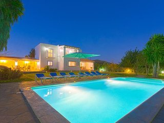 Villa Dani for 8/9 people in Ibiza town., Sant Jordi