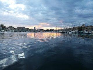 Charmant T3 tout confort 50 m plage des catalans 2 pas du vieux port, Marseille