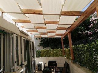 Gallipoli baia verde  4/6 posti con area esterna privata, Baia Verde