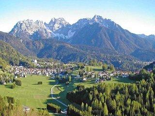 Typical villa for 8 people under the Dolomiti mountain in San Vito di Cadore