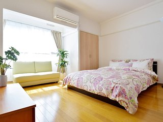 Dotonbori, Namba STA 7min Private apartment, Free Pocket WiFi