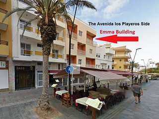 Emma Apartments, 1 Bed Apt 6 (Ref: 44) Los Cristianos Beach Front and Centre.