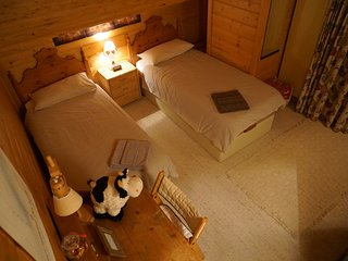 Bedroom with 2 beds Verbier Central