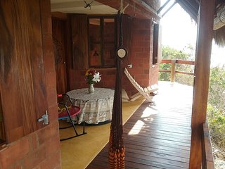 Casa Eco-Responsable La Patchanka a 20m playa San Agustinillo cuartos Luna y Sol