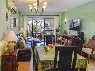 Nice! Oceanfront with pool 1 bedroom in Xaman Ha (Xh7110)