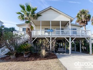 Beach Ball - Udpated Second Row Home w/ Ocean Views & Abundant Amenities