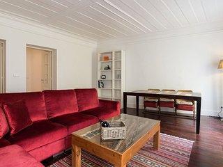 Santa Catarina Terrace apartment in Baixa/Chiado with WiFi., Lisbon
