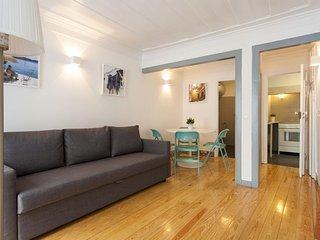 Spacious Santa Catarina Charming  apartment in Santos with WiFi & balkon.