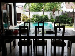 Villa Nikita. Located in Kerobokan area of Bali. Near to all facilities