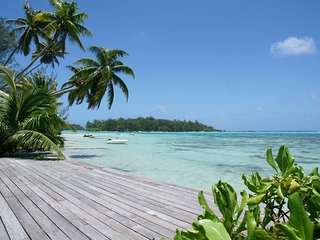 MOOREA - Villa Teareva Dream 4/6 pax