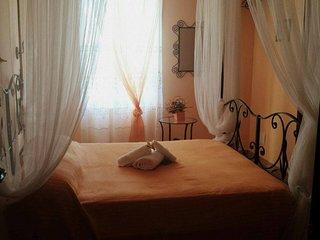 Al Casale La Gerla b&b - camera 2( letto baldacchino, bagno privato)