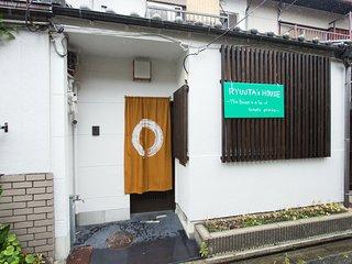 Traditional Flat 3BR 9pax near Kyoto STA WiFi