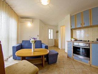Two apartments with private balconies for 8 people, Sumartin