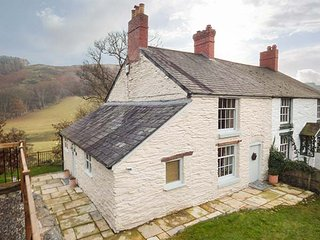 RIVERSIDE COTTAGE, enclosed lawned garden, pet-friendly, close to pub, Llangollen, Ref 949600