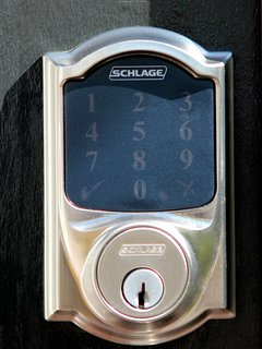 Guest house entry keypad for guest access using assigned PIN - no need to keep up with keys
