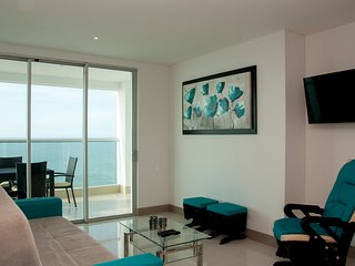 Brand New 2 Bedroom 2 Bathroom Beachfront Condo, Cartagena