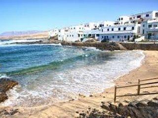 Caleta de Caballo, Teguise,  terrazas vistas al mar.