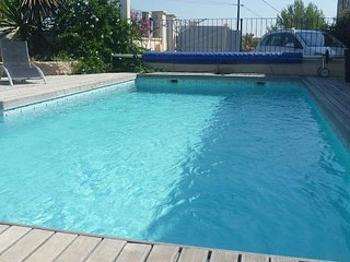 St Pons South France holiday villa with private pool sleeps 8