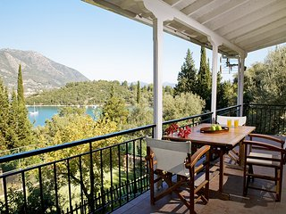 Private Villa With Pool, Tennis Court & Pontoon In Geni, Lefkada