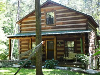 Deerview Cabin Hocking HIlls, 4 miles to Old Man's Cave, Hot tub, grill,firering