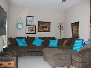 Family Friendly beach town home with community pool!  Kids Room with PS3.
