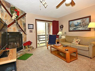Red Fox Retreat: ground floor condo across the parking lot from the slopes!
