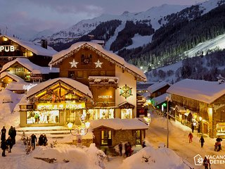 Meribel, Resort Center, Direct Slope Access, High Standards, Balcony