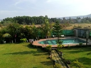 2 BHK Garden View Blue Villa in Lonavala!!