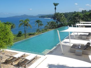 The Sky Villa at Shunyata Villas Bali,  is situated on a cliff -directly on the