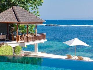 Modern design beach house Tirta Nila
