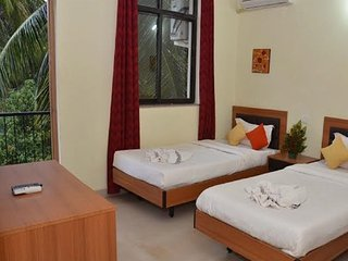 Two Bedroom Suites in Calangute, Goa. Rooftop Swimming Pool