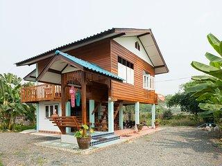 Traditional Thai Teakwood house
