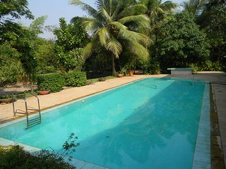2 BHK bungalow in Alibaugh with Swimming pool