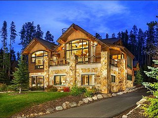 Opulent Home with Top of the Line Amenities - Wonderful Slope and Forest Views (13531), Breckenridge