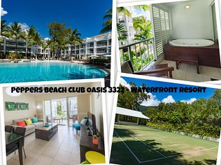 Peppers Beach Club Oasis 3322 - Waterfront Resort Spacious 2 Bedroom Apartment, Palm Cove